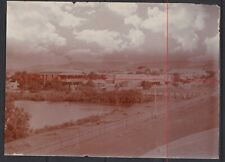 OLD Photo view HAWKER Flinders Ranges SOUTH AUSTRALIA c1890 showing Shops Hotel