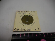 25 CENT ALABAMA BY-PRODUCTS FLAT CREEK,ALA. TOKEN--TWO STARS