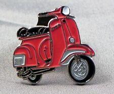 métal émail épinglette broche SCOOTER VESPA MOTO MOTARD cavalier rouge