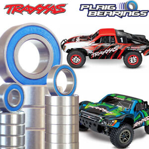 Traxxas Slash 4WD Electric 1/10 Ball Bearing Kit 21 Pack PTFE Rubber Seals