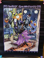 Jill Thompson SCARY GODMOTHER Vintage Poster from Sirius 2000