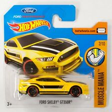HW0063 Hot Wheels 2017 Ford Shelby GT350R 2/10  - Muscle Mania DVC39