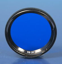 B+W Bayonett I Blaufilter blue filter bleu filtre KB20 2,7x - (91925)