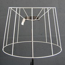 "22"" French Drum Tapered Straight Empire Traditional Lampshade Frame"