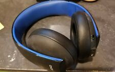 Sony PlayStation Gold Black Headband Headsets for Multi-Platform HEADSET ONLY