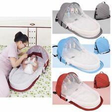Foldable Safety Portable Baby Bed Crib Travel Newborn Sleeper Infant Bassinet US