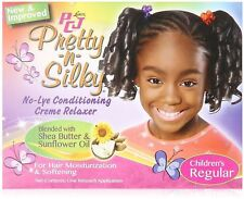 Luster's PCJ Pretty N Silky No Lye Relaxer, Children's Regular 1 ea 2pk