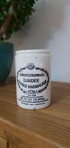 James Keiller & Sons Dundee Orange Marmalade Pot 1lb Vintage