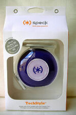 Speck Headphones In Ear Buds Carrying Case for iPod Shuffle Nano 6G PURPLE