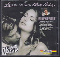 JOHN PAUL YOUNG LOVE IS IN THE AIR CD 16 ORIGINAL GREATEST HITS BEST OF FREE PST