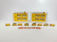 CK784-0,5 #2x Brekina H0/1:87 Set Serie 3 Vw-Transporter T1 Posta / Dbp , Mint +