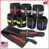 2X Weight Lifting Wrist Wraps Gym Training Support Wrap Grip Straps Pair