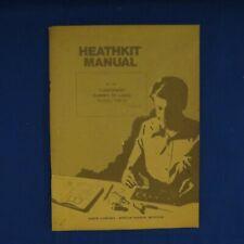 Heathkit Manual Cantenna Dummy RF Load Model HN-31 - SEE PICS