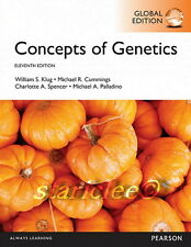 NEW 3 Days to AUS Concepts of Genetics 11E William S. Klug Cummings 11th Edition