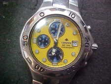 CITIZEN AQUALAND PROMASTER DIVERS 200M WR.20 bar ANALOG  CHRONO