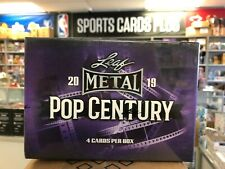 2019 Leaf Pop Century Factory Sealed Box 4 autos QUANTITY DISCOUNTS FREE SHIPPIN