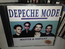DEPECHE MODE MASTER & SERVANT RARE CD RECORDED AT PARADISO AMSTERDAM