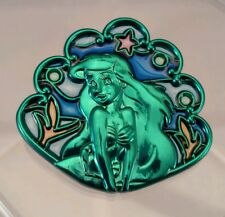 Disney Passholder Stained Glass The Little Mermaid Ariel pin