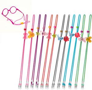 Kids Glasses Strap 12 PCS Kid Eyeglass Strap Sunglasses Retainer for Boys Girls