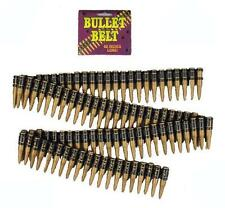Forum Novelties Deluxe Bandolier Bullet Belt Costume Rambo Commando Fake Army