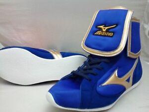 Mizuno Boxing Shoes EF type Original color Blue X gold 21GX154000 Fast Shipping