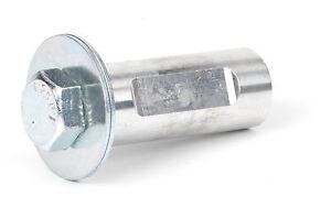 "Zephyr Buffer Adapter 5/8""-11 Shaft, Fits Buff with 1/2"" Hole Cotton Wheel BA012"