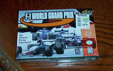 N64 F-1 World Grand Prix - BRAND NEW IN BOX -STILL SEALED NEVER USED NOS