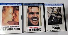 The Shining, eyes wide shut, 2001 space odyssey stanley kurbick dvd