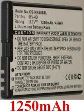Batterie 1250mAh type BV-4D Pour Nokia 808, Nokia 808 PureView, Nokia Lankku