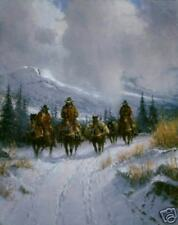 G Harvey 'Bundled Blessed & Headin' West' Limited Edition Canvas- ONLY 1 left!