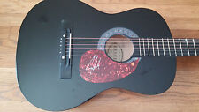 JOE NICHOLS SIGNED ACOUSTIC GUITAR YEAH SUNNY AND 75 TEQUILA MAKES HER  GA CERT