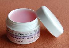 UV LED Einphasen Gel 15 ml Farbe Rosa  Aufbaugel