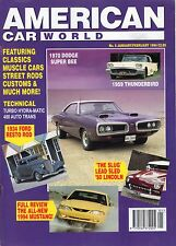 American Car World No7 May/june 1994 NOS Back Issue