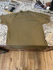 XGO Phase 1 Tactical Lightweight Tech Silk T-Shirt, X-Large, Coyote Brown, NIP