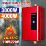 Electric Tankless Instant Hot Water Heater Under Sink Tap Kitchen Bathroom  A