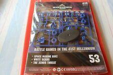 Games Workshop Warhammer 40000 Conquest Issue 53 BNIB New Magazine Marines Bike