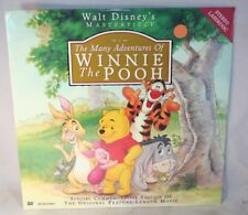 Laserdisc {Z} * Walt Disney's The Many Adventures of Winnie the Pooh * New 2@2