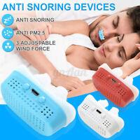 Mini CPAP Micro CPAP Nose Anti Snoring Device Sleep Apnea Stop Snore Aid Stopper