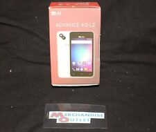 BLU Smartphone (Black) - Advance 4.0 L2 Android (GSM Locked)