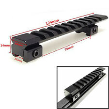 Scope Extend Mount Adapter Dovetail Weaver Picatinny Rail Adapter 11mm to 20mm