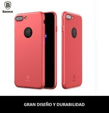 Funda BASEUS Alta calidad. De color ROJO para iPhone 8 / 7 PLUS ó iPhone 8 / 7