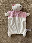 Next Baby Chloe Cat White Pink Spotty Comforter Blankie Soft Toy Baby Girl
