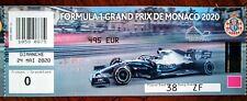 Ticket 2020 MONACO Formula 1 GP (the Grand Prix that It wasn't)