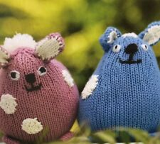 Knitted Bunny Toys Knitting Pattern