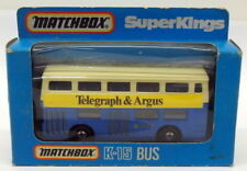 Bus miniatures Matchbox 1:76