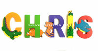 Kid Baby Toddler Wooden Jigsaw Puzzle Alphabet Letters Animal Early Learning Toy
