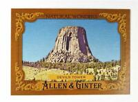 2016 Topps Allen and Ginter Natural Wonders #NW15 Devils Tower - NM-MT