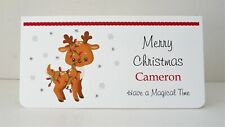 Christmas Money/Gift/Voucher Wallet with Envelope Personalised Handmade