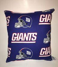 Giants Pillow NFL NY Giants Pillow New York Giants Pillow Handmade in USA NEW