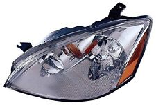New Left/Driver Side Headlight Assembly Non-HID FOR 2002-2004 Nissan Altima